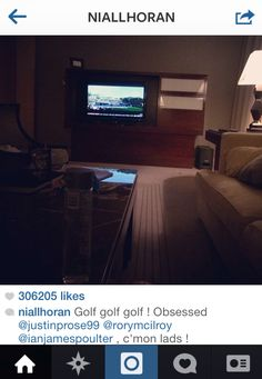 Niall thanks for the pic of what you're watching. I love this idiot.