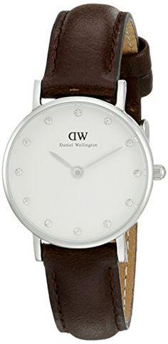 cfcd8a57216a9 Daniel Wellington Womens 0923DW Classy Bristol Analog Display Quartz Brown  Watch -- Be sure to
