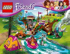 Adventure Camp Rafting 41121 - LEGO Friends - Building Instructions - LEGO.com