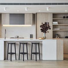 253 Likes 8 Comments WK Quantum Quartz wk qua Luxury Kitchens, Home Kitchens, Modern Kitchens, Contemporary Kitchen Design, Wood Home Decor, Cuisines Design, Küchen Design, Design Ideas, Kitchen Layout