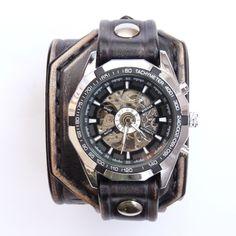 Kožený+hodinky,+pánský+hodinky,+kůže,+věnování+II+Farba:+černá+Šírka:+6+cm+Hodinky+Winner+-+mechanické+bez+baterky,+hodinky+treba+naťahovať+Vyrobím+podľa+požiadavky.+Potrebujem+Váš+obvod+zápästia.+Hodinky+vyrobím+podľa+požiadavky+tak+aby+sedeli+na+vašu+ruku.+Pred+kúpou+mi+napíšte+správu+a+všetko+upresníme