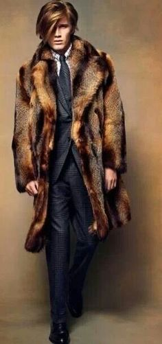 Tom Ford. I love when he uses fur from his women's collection.