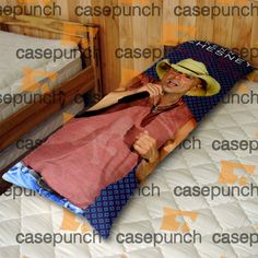 An5-kenny Chesney The Big Revival Tour Body Pillow Case
