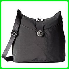 Baggallini Helsinki Slim Light Sholder Hobo Bag Crossbody (Black) -  Shoulder bags ( Amazon Partner-Link) 25ac0f4e31081