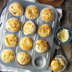Tropical Muffins Recipe -I entered these muffins at our county fair and won the grand champion award for baked goods. They're so moist, they don't need butter. —Sylvia Osborn, Clay Center, Kansas