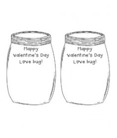 DIY Valentine Card...Just add a bug!