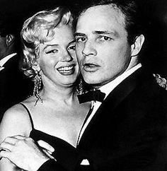 Marlon Brando & Marilyn