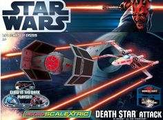 Micro Scalextric G1084 Star Wars Death Star Attack 1:64 Scale PURSUIT & BATTLE Set by Scalextric Micro Scalextric (1:64), http://www.amazon.co.uk/dp/B006ZVJJRS/ref=cm_sw_r_pi_dp_rbPWqb0R8M6FP