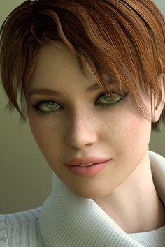 Hot Digital Portraits by Deane Whitmore