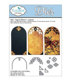 Elizabeth Craft Designs Tags & More Tag 3 DiesElizabeth Craft Designs Tags & More Tag 3 Dies,