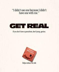 lacigreen:  nickjetset:  xenopheles:  dandyads:  Trojan Condoms, 1993  BRING THIS BACK, TROJAN.  Good advertising is good. Promotes safe sex and their own product!  sassy trojan, damn. i like