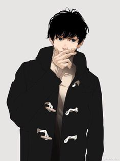 boy, cool and anime image on We Heart It