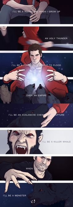 my art for teenwolfreversebang and a fic for it: clenching my jagged jaws (over the capture) by Marishna (marishna) Derek Hale was never supposed to be alpha, but he's a good one. He doesn't need any help and he definitely doesn't need an emissary. Stiles Stilinski is Derek Hale's emissary and come hell or high water he's going to see the Hale pack through the impending arrival of the alpha pack, even if it means he can never return to Beacon Hills after. enjoy!