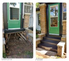 Habitat For Humanity, Before And After Pictures, Home Repairs, Habitats, Exterior, Patio, Outdoor Decor, Home Decor, Decoration Home