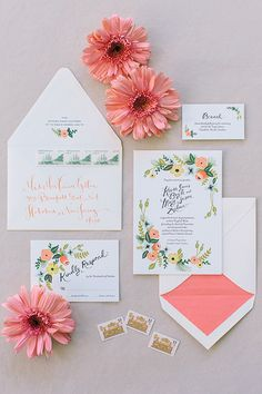 Gorgeous @riflepaperco #weddinginvitations | @corbin | Brides.com