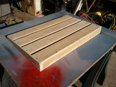 Pallet Pedal Board