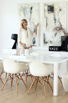 INTERIOR DESIGN | LORCH-ART | Achern | Germany | Oil Painting Abstract, Petra, Germany, Interior Design, Chair, Furniture, Home Decor, Paint, Dining Room Art