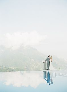 Romance in the Amalfi Coast: http://www.stylemepretty.com/destination-weddings/2015/04/15/elegant-amalfi-coast-dream-wedding-in-ravello-italy/ | Photography: Alicia Swedenborg - http://www.aliciaswedenborg.com/