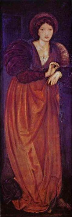 """Fatima""  - Edward Burne-Jones, (1862)"
