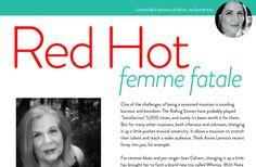 'Donna Kay' from 'July 2015 fête magazine' by fête