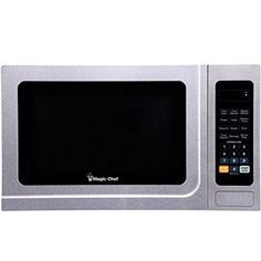 Magic Chef Mcd1310st 1.3-cubic Ft Countertop Microwave [stainless Steel], Silver