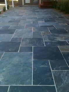 Home Improvement Design · Patio Design Architecture & 17 Best Garden slate patio images   Slate patio Gardening Gardens
