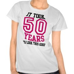 =>>Save on          50th Birthday TSHIRT           50th Birthday TSHIRT lowest price for you. In addition you can compare price with another store and read helpful reviews. BuyHow to          50th Birthday TSHIRT please follow the link to see fully reviews...Cleck See More >>> http://www.zazzle.com/50th_birthday_tshirt-235535628418136289?rf=238627982471231924&zbar=1&tc=terrest