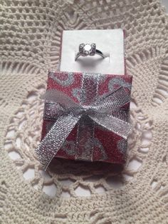 Gift box for ring most popular item от Spillikinsbijou на Etsy