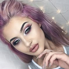 This look by the lovely @jamiegenevieve <Instagram> is always too much pretty for us to handle. Here she uses Makeup Geek Signature Eyeshadows in Bitten, Cupcake and Cinderella. Perfection!