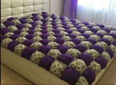 Красивое и очень теплое одеяло «бонбон» (Шитье и крой) | МОДНЫЙ КАЛЕЙДОСКОП | Яндекс Дзен