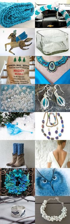 Heading Home for Christmas by Emily Dunbar on Etsy--Pinned with TreasuryPin.com