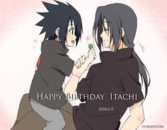 Sasuke and Itachi Uchiha brothers Naruto Shippuden, Boruto, Sasuke And Itachi, Team 7, Brother, Kawaii, Manga, Anime Boys, Cute