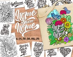 """Check out my @Behance project: """"Home Sweet Home"""" https://www.behance.net/gallery/54877981/Home-Sweet-Home"""