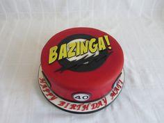 Big Bang Bazinga cake