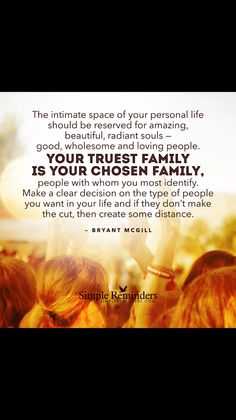 Chose your tribe wisely