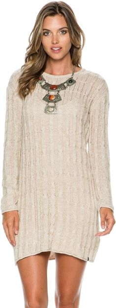 Volcom long sleeve dress