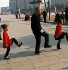 chinesestyle shuffle  the most amazing dance in china's