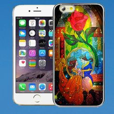 Disney+Beauty+and+the+Beast+Stained+Glass+case++for+iPhone+Case+,Samsung+Case,Ipad+case+etc