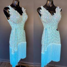 🎁 FREE SHIPPING 🚚 🛒 Order on the website www.ddressing.com - - - #latin #fadspro #latindancing #dancelook Ballroom Dresses For Sale, Dance Costumes, Dress Making, Dressing, Dresses With Sleeves, Brand New, Free Shipping, Website, Stone