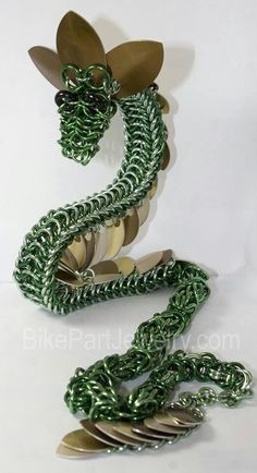 Chainmaille Dragon