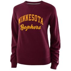 League Women's Minnesota Gophers Crewneck Sweatshirt