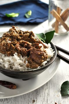 Made from scratch, authentic Malaysian curry recipe that is off-the-charts better than using store bought paste. #curry #malaysian #modern_asian