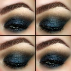 Love of the Ocean - #ocean #love #blue #deepblue #oceanblue #eyes #sultry #eyemakeup #makeup #mollypopsofcolor - bellashoot.com