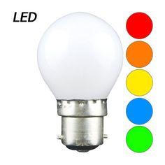 Ampoules LED couleurs culot B22 guirlande guinguette Festilight - LAMP EXPRESS