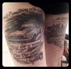 Bruce Springsteen tattoo - Dimond Jackie @Tougher_TT_Rest