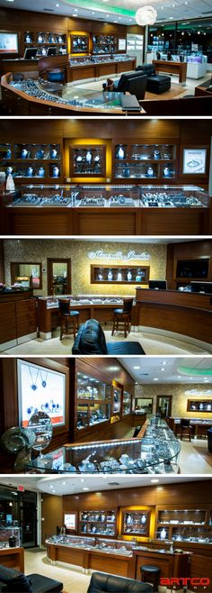 Marinelli Jewelers. Manufacture & Design of Store Fixtures by Artco Group.