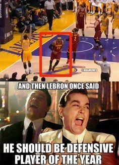 LeBron James' Defensive Ways! Funny Nba Memes, Funny Basketball Memes, Basketball Quotes, Love And Basketball, Funny Relatable Memes, Funny Quotes, Funny Sports Quotes, Basketball Drawings, Street Basketball