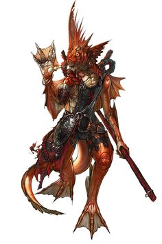 Fishman from Blade & Soul