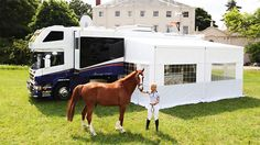 3 Luxurious Horseboxes for the Equestrian Rockstar #equestrianvogue