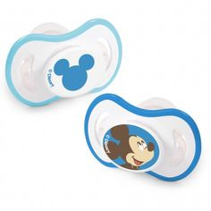 Soothe your little mouse with ease. #DisneyBaby #Mickey #pacifier